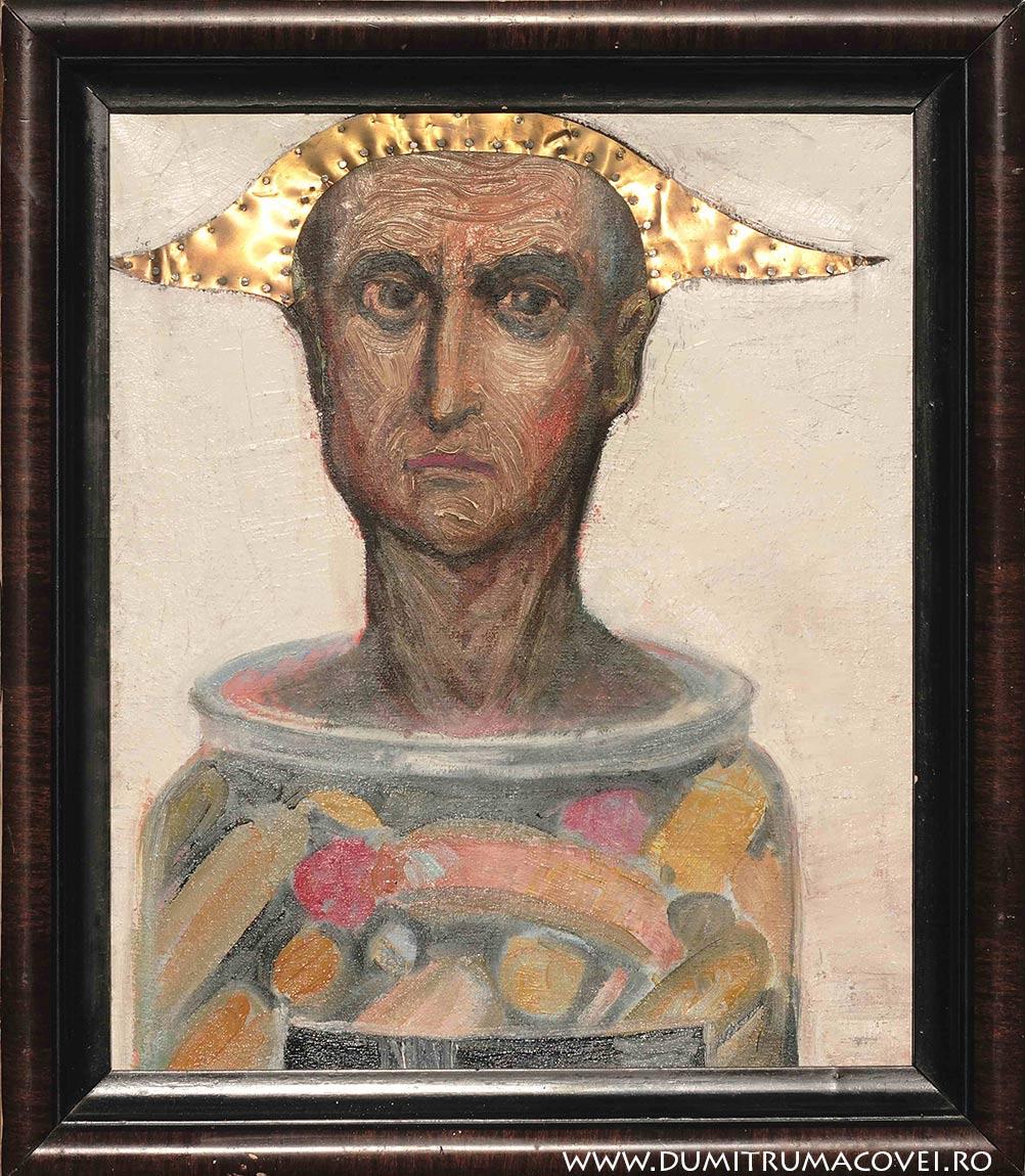 pictor Dumitru Macovei, Acritura
