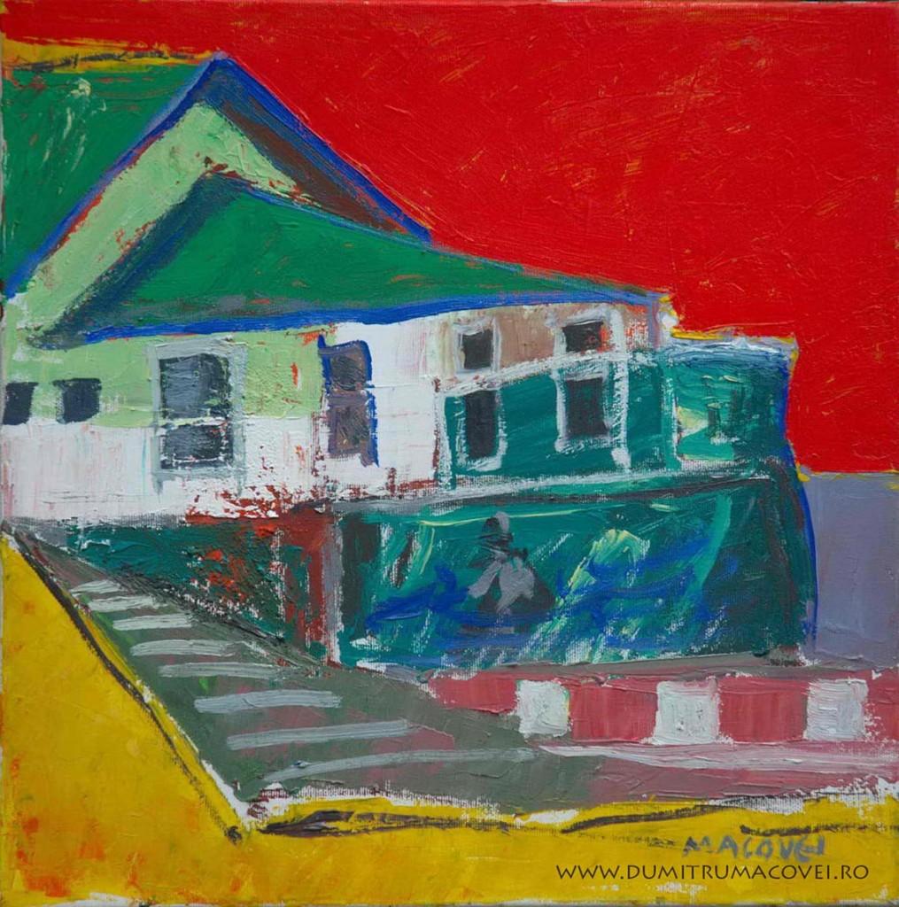 pictor Dumitru Macovei, Casa verde - Techirghiol