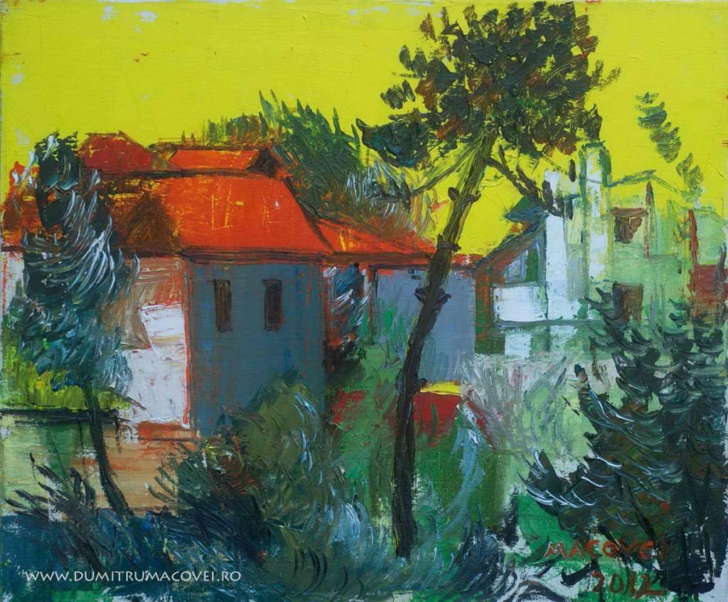 pictor Dumitru Macovei, Case si pin, Eforie Sud