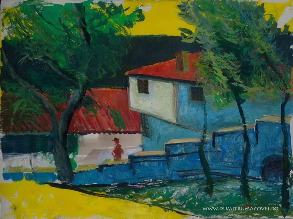 pictor Dumitru Macovei, Gradina Reginei- Balcic