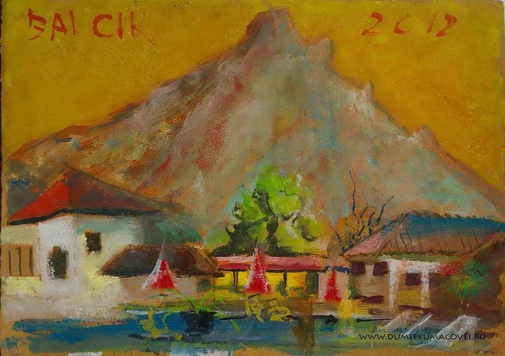 pictor Dumitru Macovei, Muntele