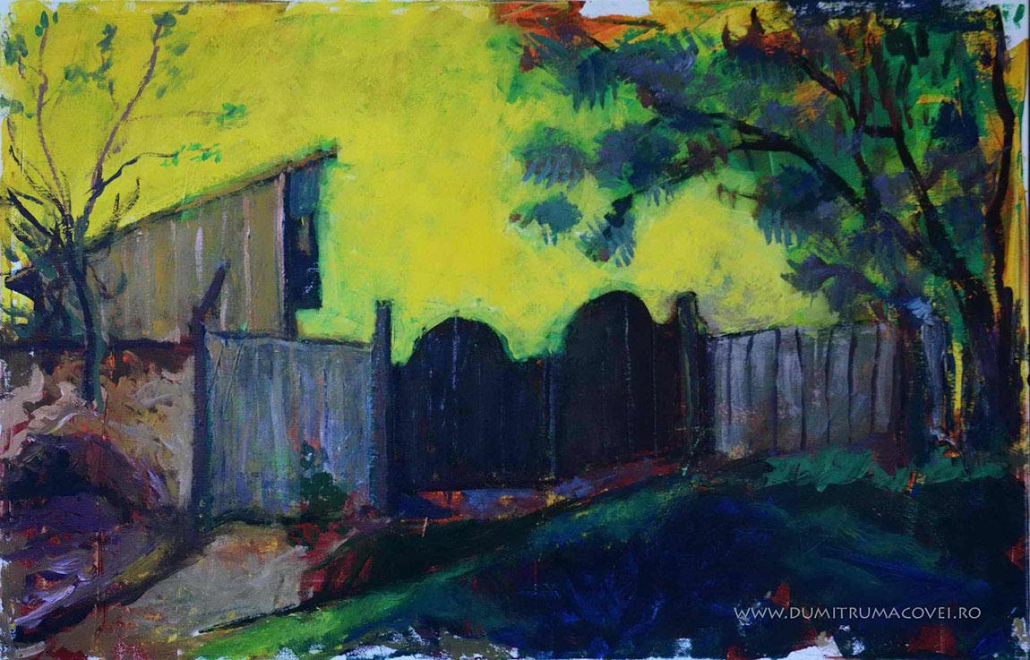 pictor Dumitru Macovei, porti negre