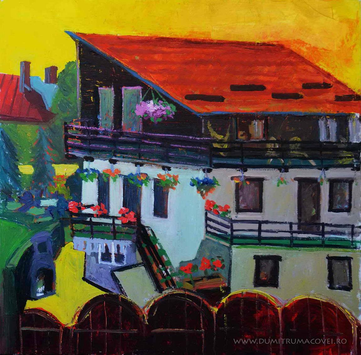 pictor Dumitru Macovei, Sinaia - Vila