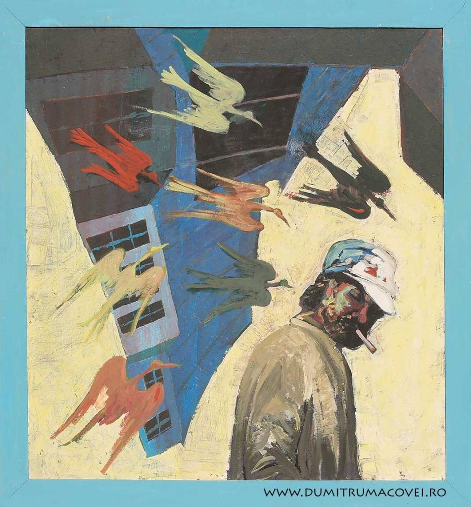 pictor Dumitru Macovei, Un pahar in plus