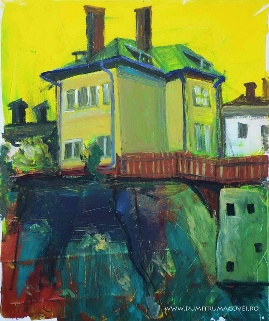 pictor Dumitru Macovei, Case pe deal