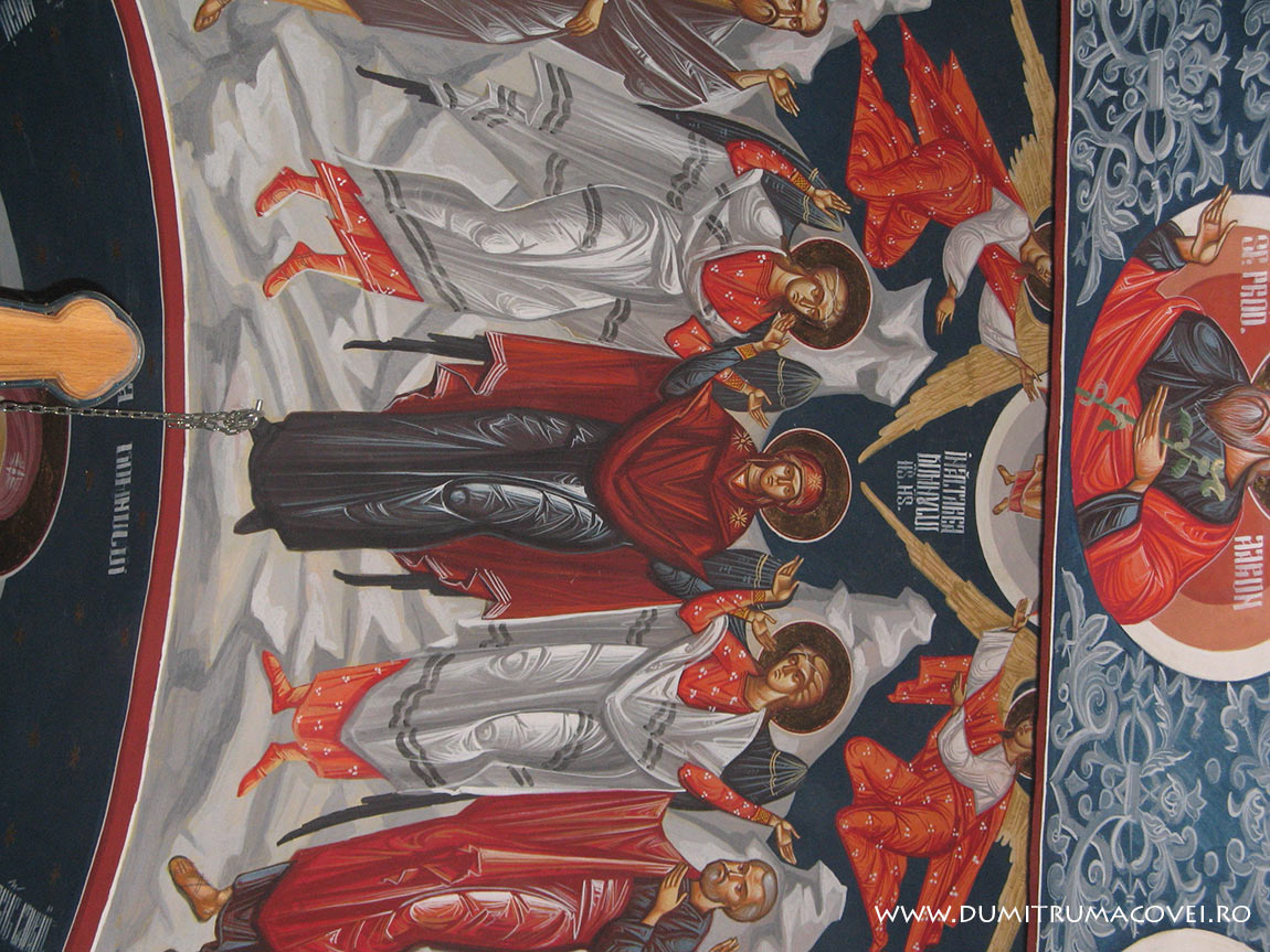 pictor Dumitru Macovei, Biserica Inaltarea Domnului, Constanta