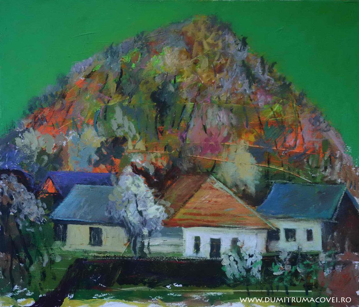 pictor Dumitru Macovei, Casa si deal