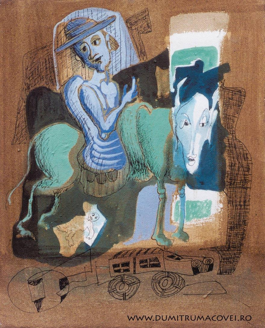 pictor Dumitru Macovei, Fizionomiile noptii IV