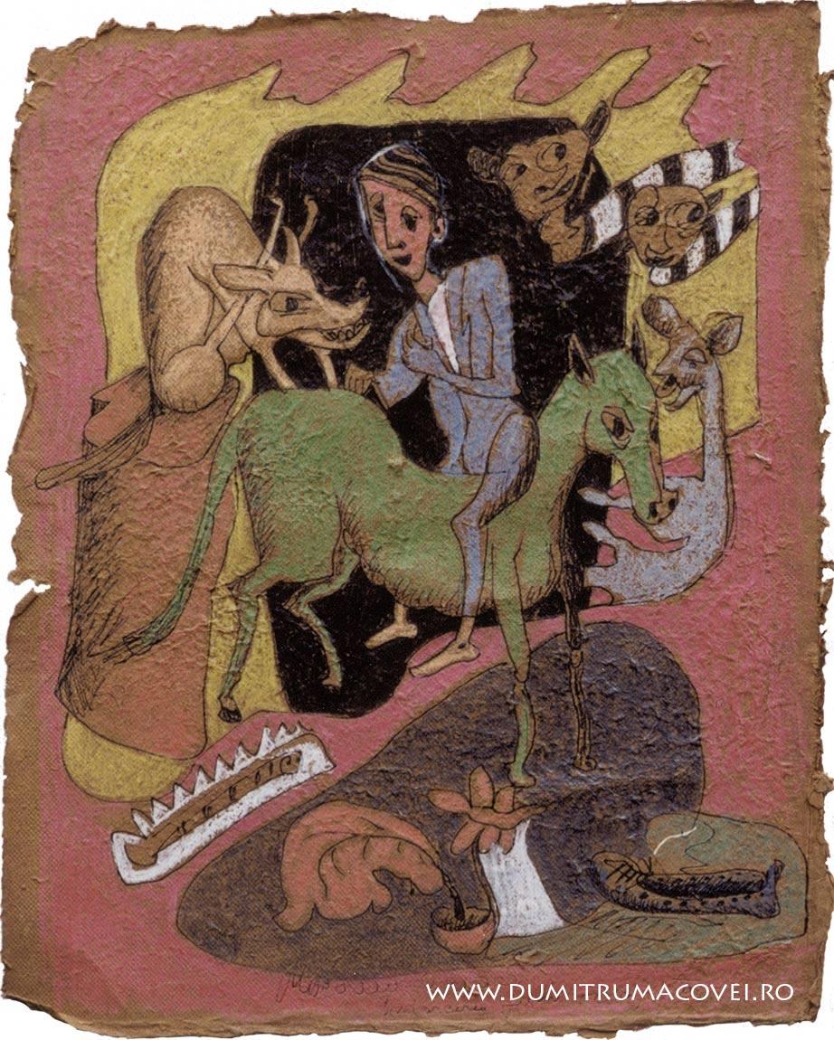 pictor Dumitru Macovei, Fizionomiile noptii VII