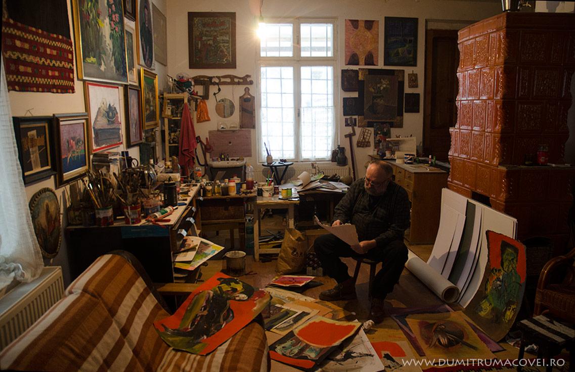 Pictor Dumitru Macovei, Imagini din atelier II