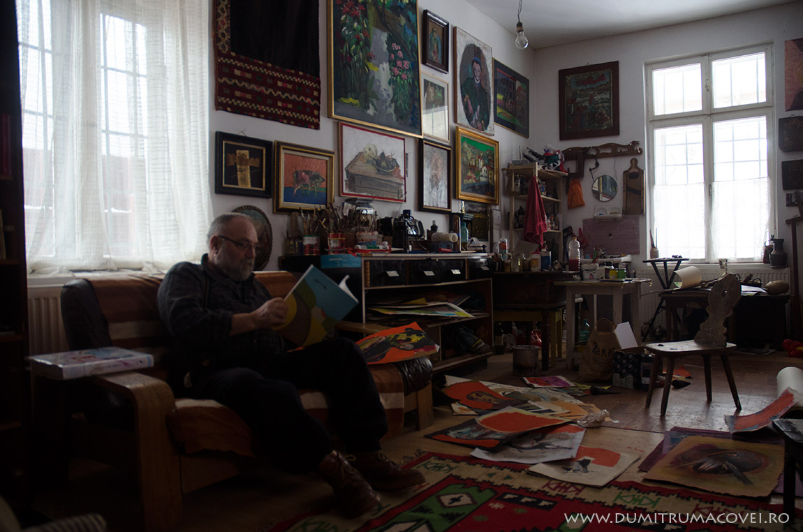 pictor Dumitru Macovei, Imagini din atelier III