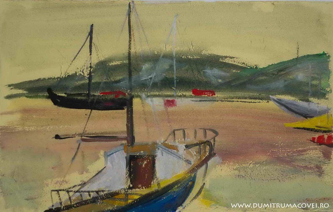 pictor Dumitru Macovei, In port II