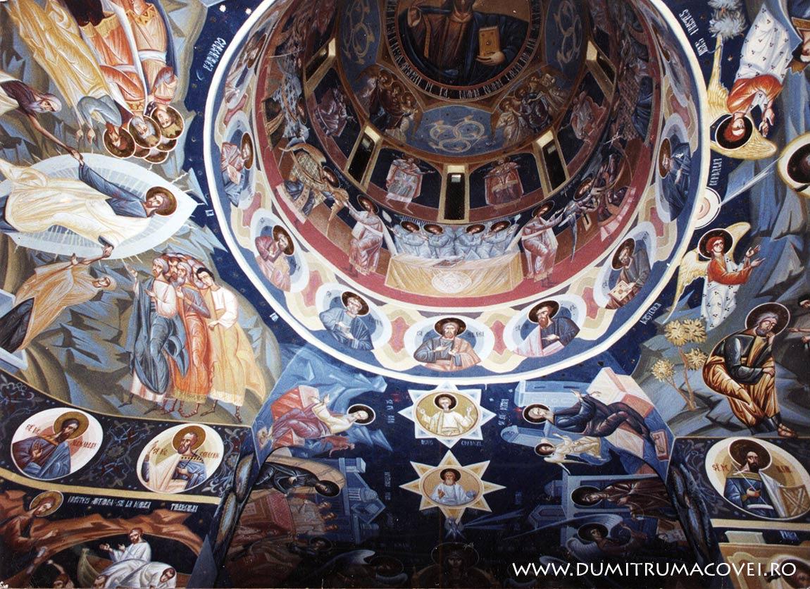 pictor Dumitru Macovei, Manastirea Dridu II