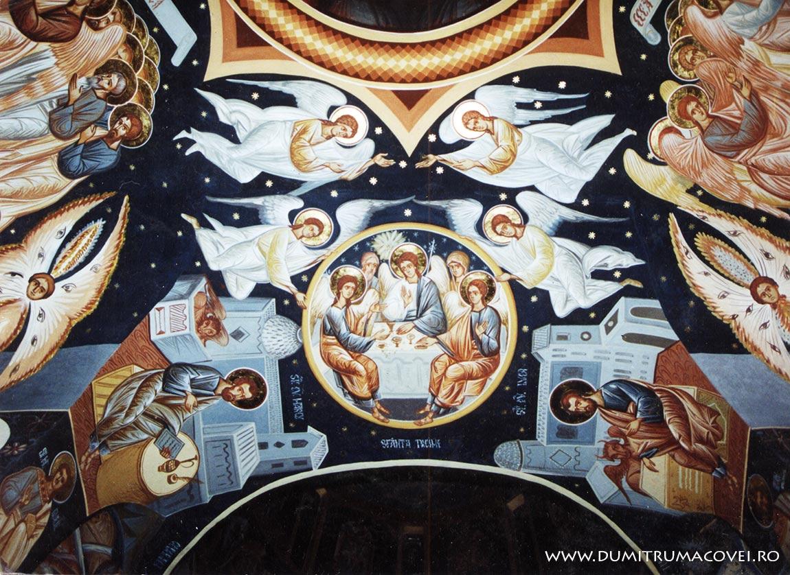 pictor Dumitru Macovei, Manastirea Dridu IV
