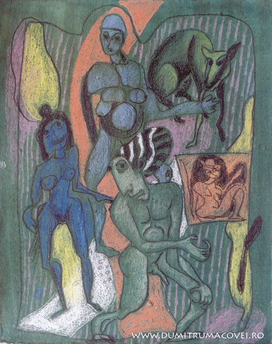 pictor Dumitru Macovei, Menajeriile noptii II
