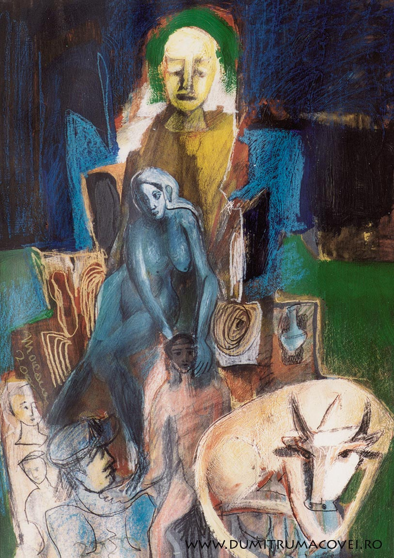 pictor Dumitru Macovei, Menajeriile noptii III
