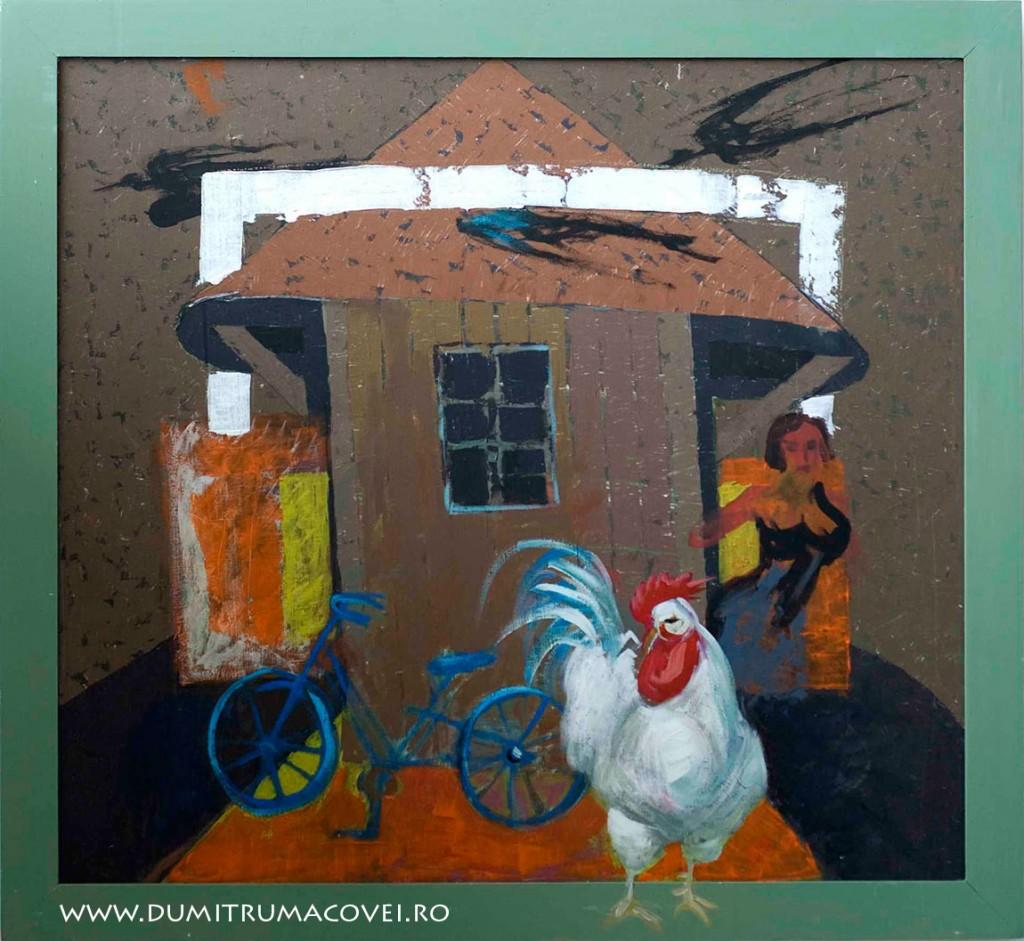 pictor Dumitru Macovei, Mitza biciclista