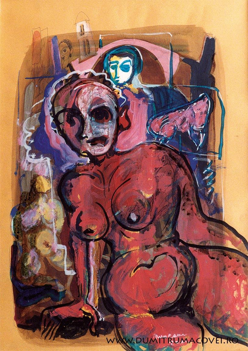 pictor Dumitru Macovei, Nud