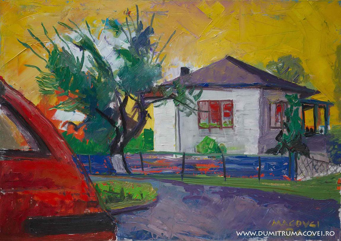 pictor Dumitru Macovei, Peisaj, Eforie Sud