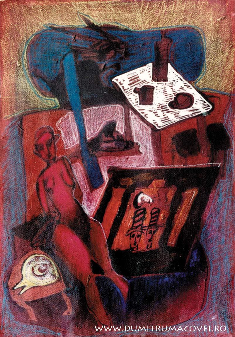 pictor Dumitru Macovei, picnic cu Medeea
