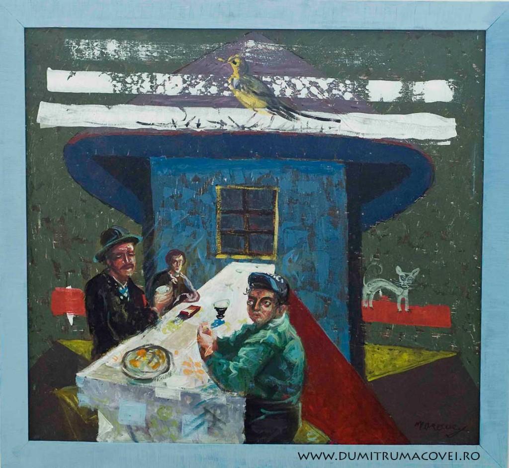 pictor Dumitru Macovei, Restul au plecat..
