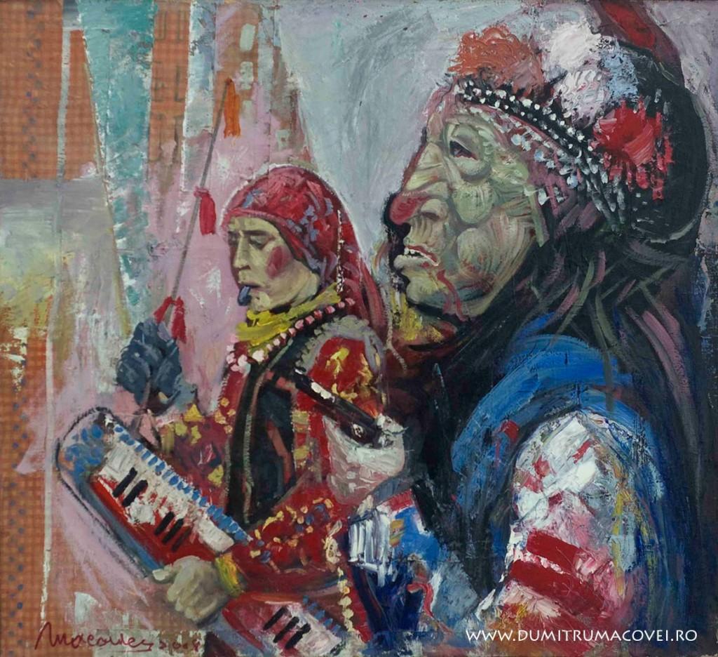 pictor Dumitru Macovei, Ritual II