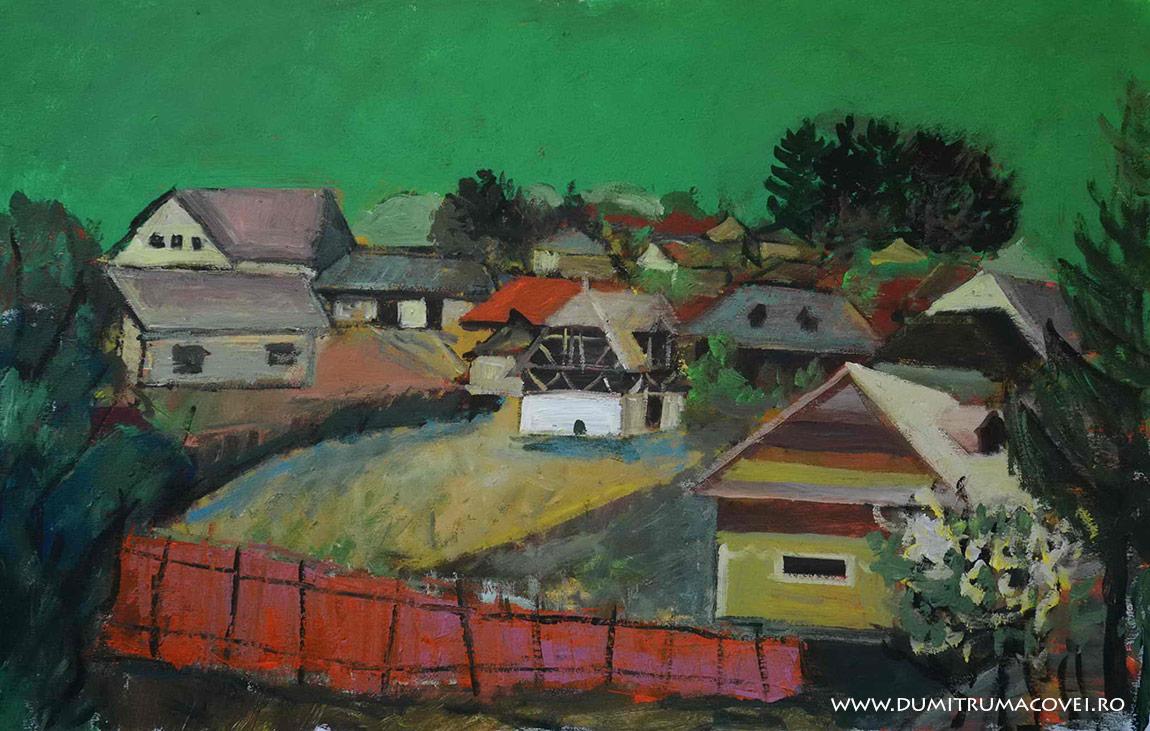 pictor Dumitru Macovei, Satul