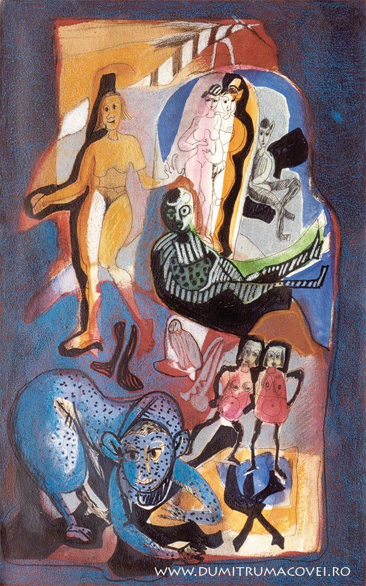 pictor Dumitru Macovei, Secretele Fiarei
