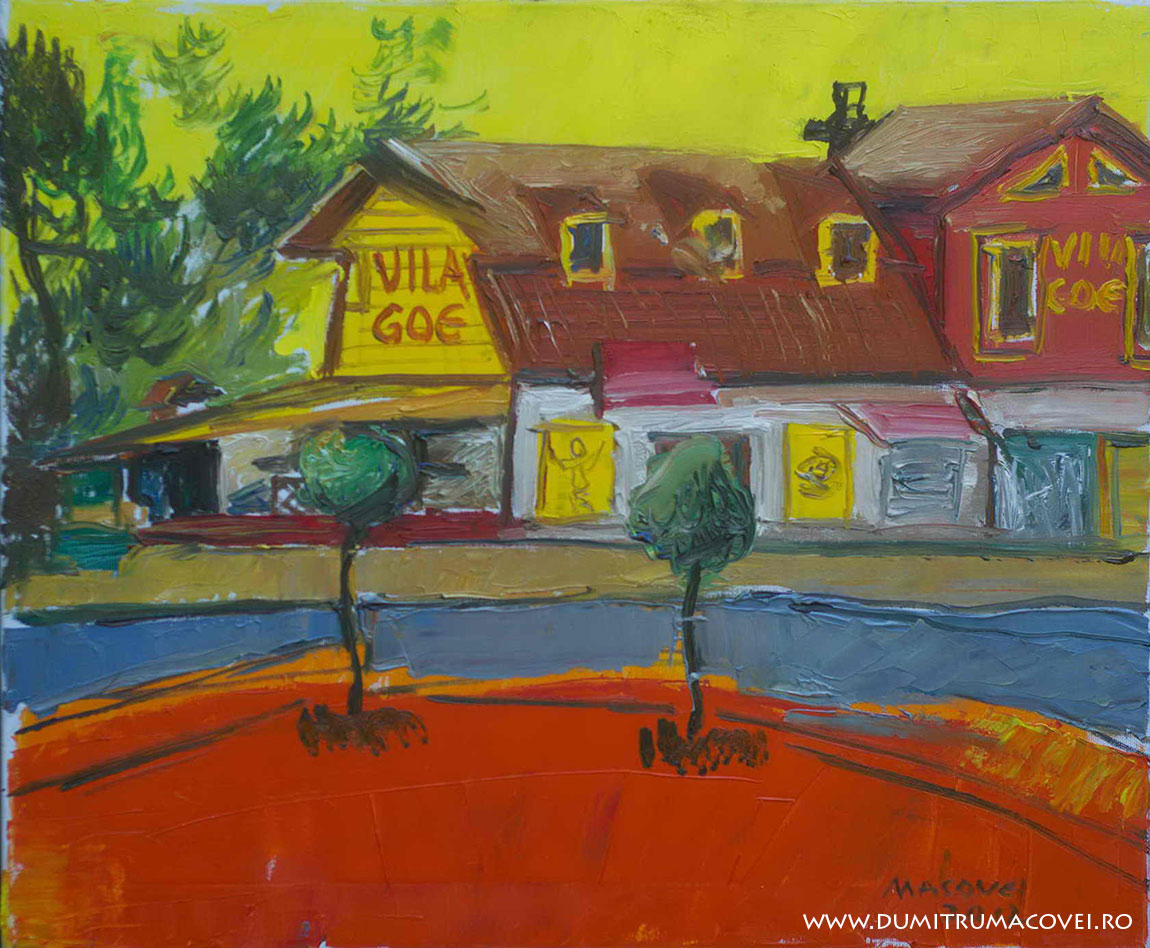 pictor Dumitru Macovei, Vila Goe, Techirghiol