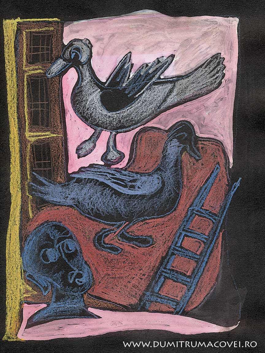 pictor Dumitru Macovei, Zoologii nocturne III
