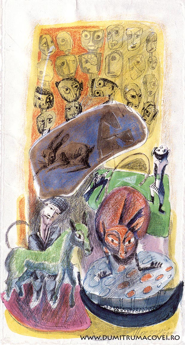 pictor Dumitru Macovei, Zoologii bizare II