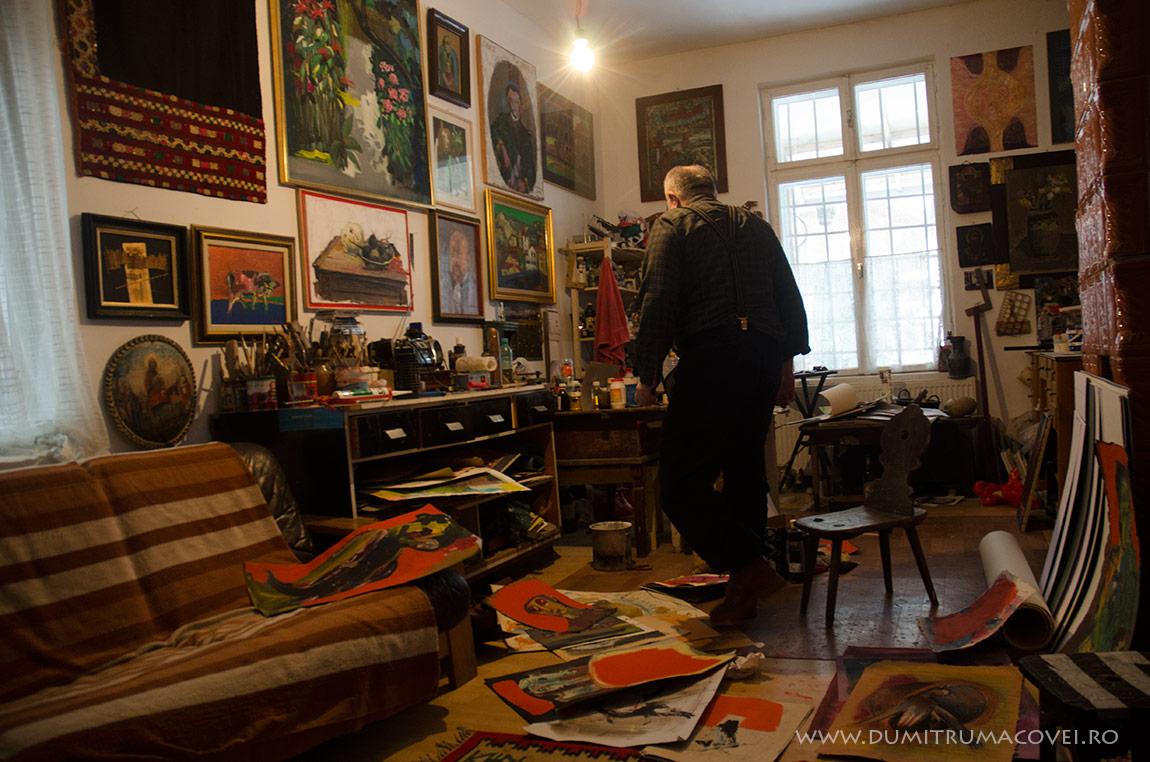 pictor Dumitru Macovei, Imagini din atelier I