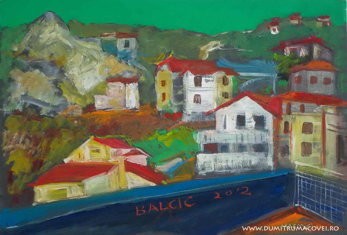 pictor Dumitru Macovei, vedere din balcon II, Balcic