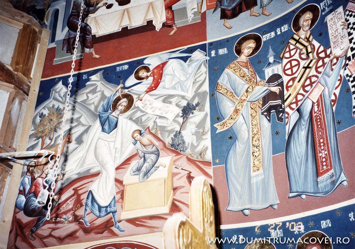 pictor Dumitru Macovei, Biserica Vladiceni I