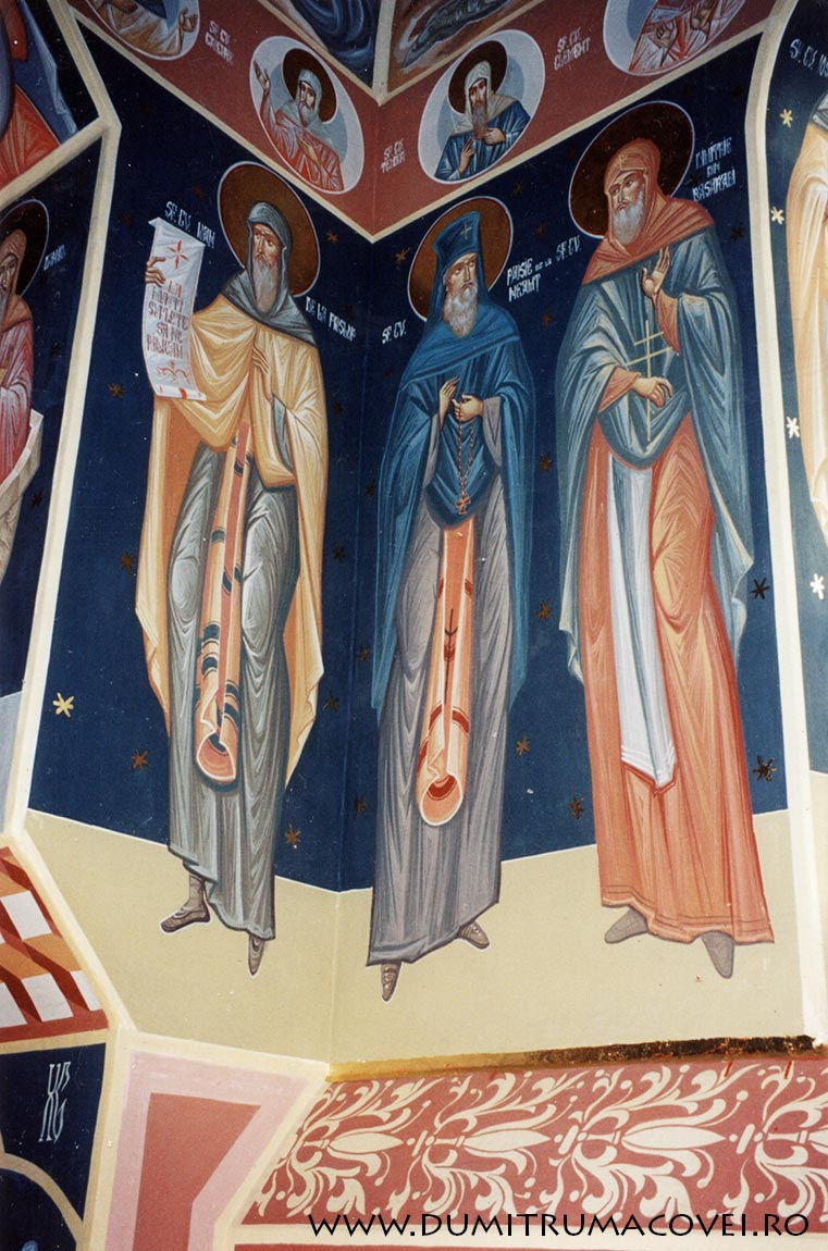 pictor Dumitru Macovei, Biserica Vladiceni II