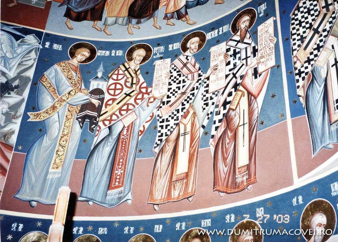 pictor Dumitru Macovei, Biserica Vladiceni V