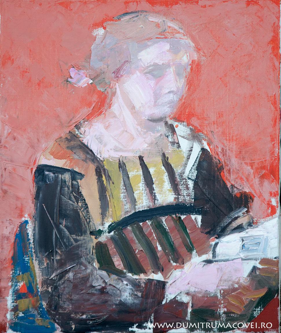 pictor Dumitru Macovei, ulei pe panza, 55x65