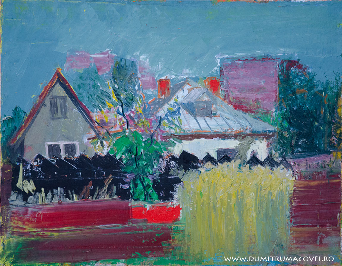 pictor Dumitru Macovei, Peisaj-Techirghiol