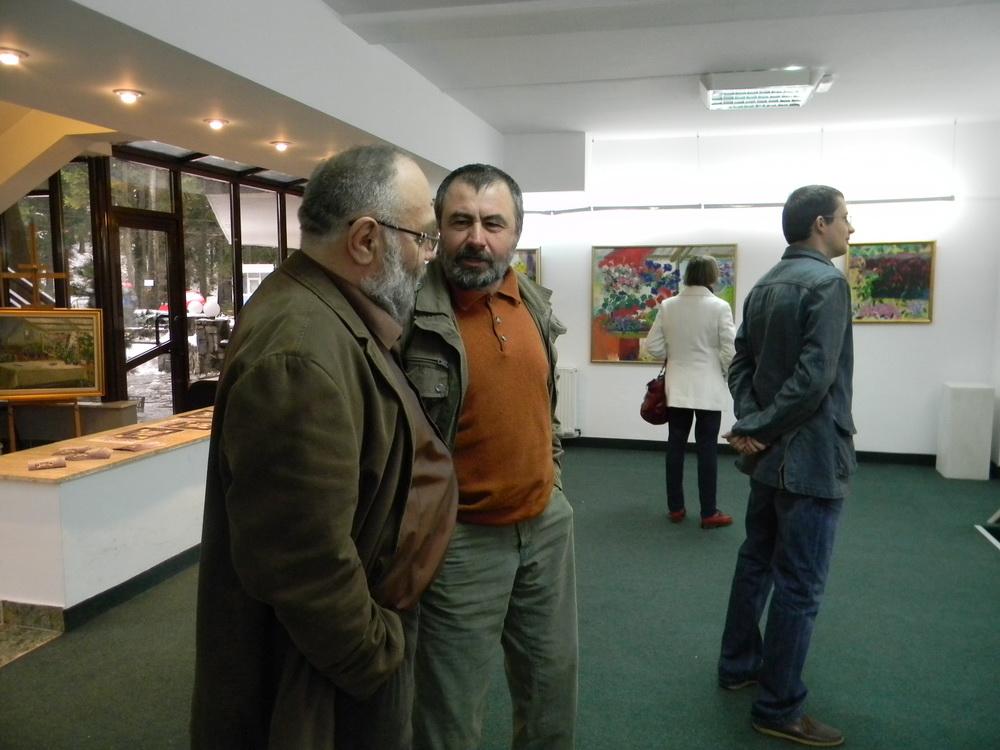 Pictor Dumitru Macovei, Imagini din Expozitii - Busteni III