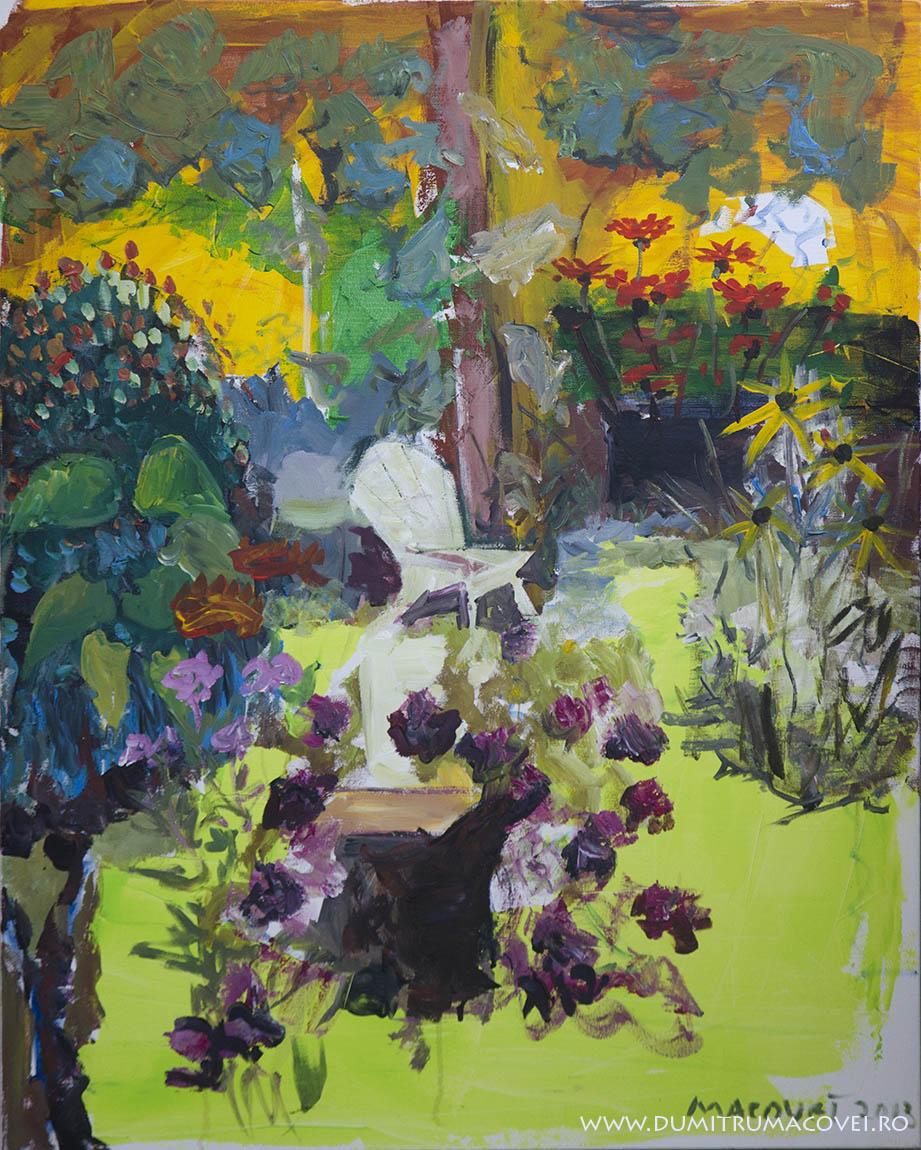 pictor Dumitru Macovei, Scaunul Alb