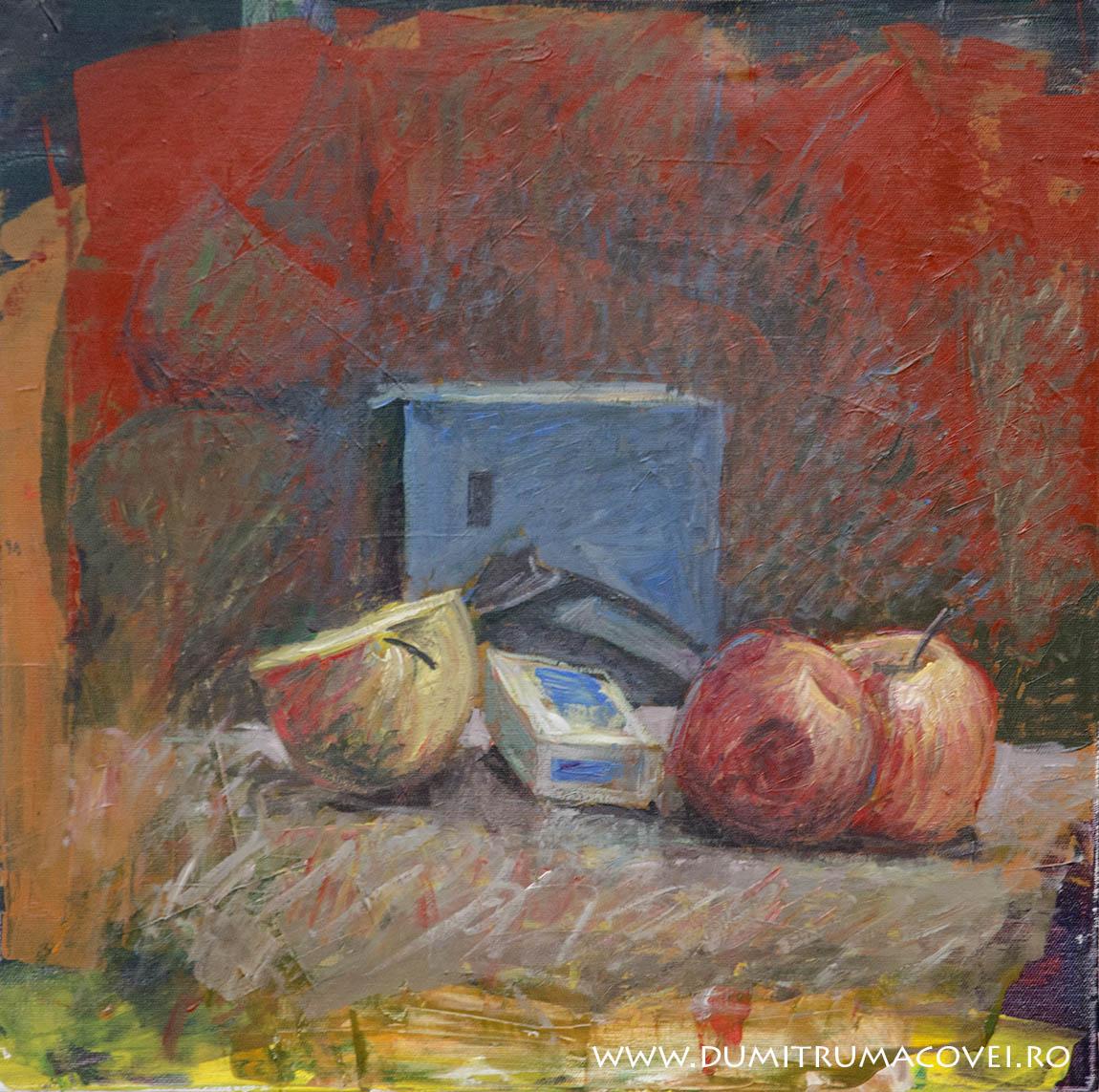 Natura statica cu mere II