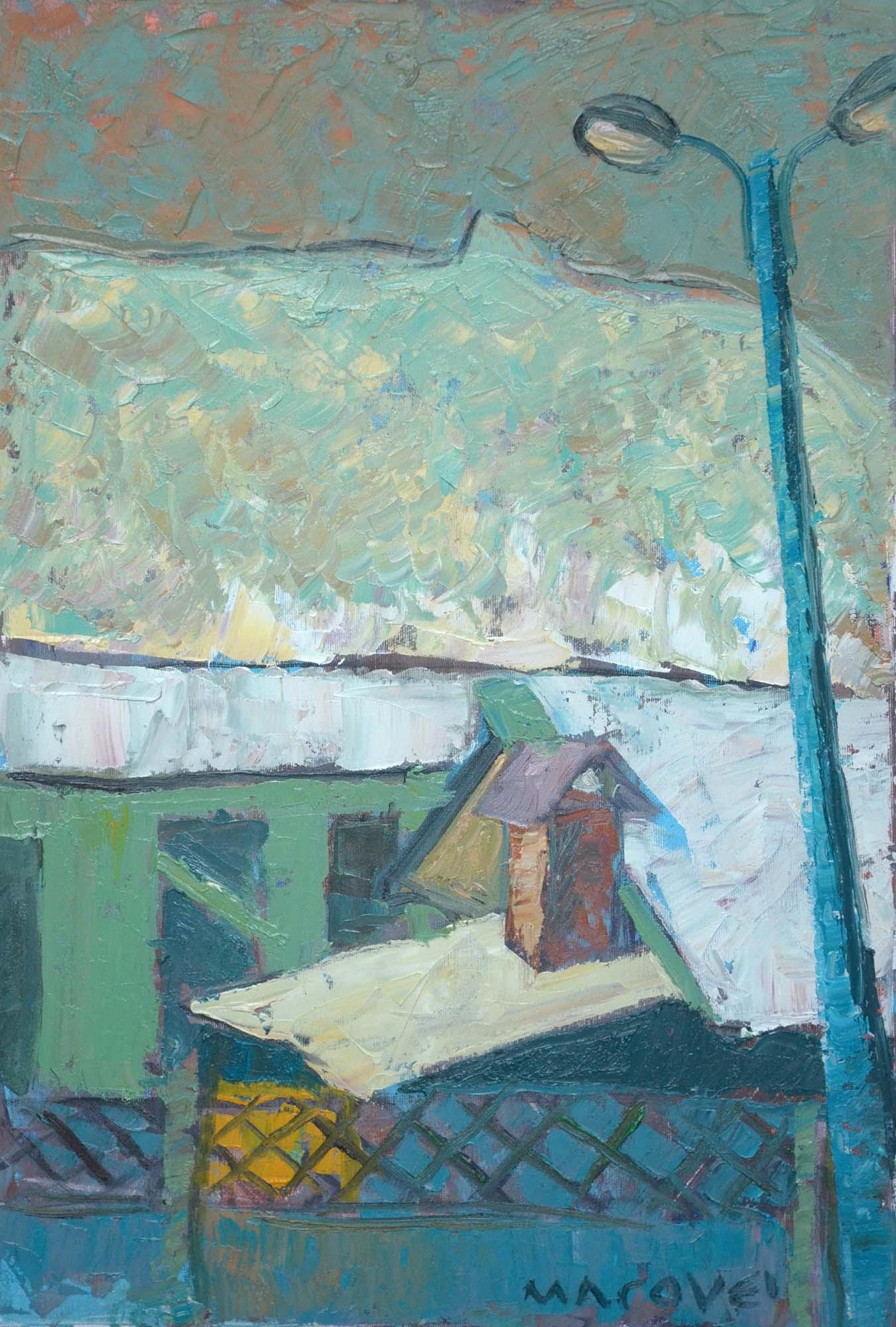 pictor Dumitru Macovei, Casa, Bistrita