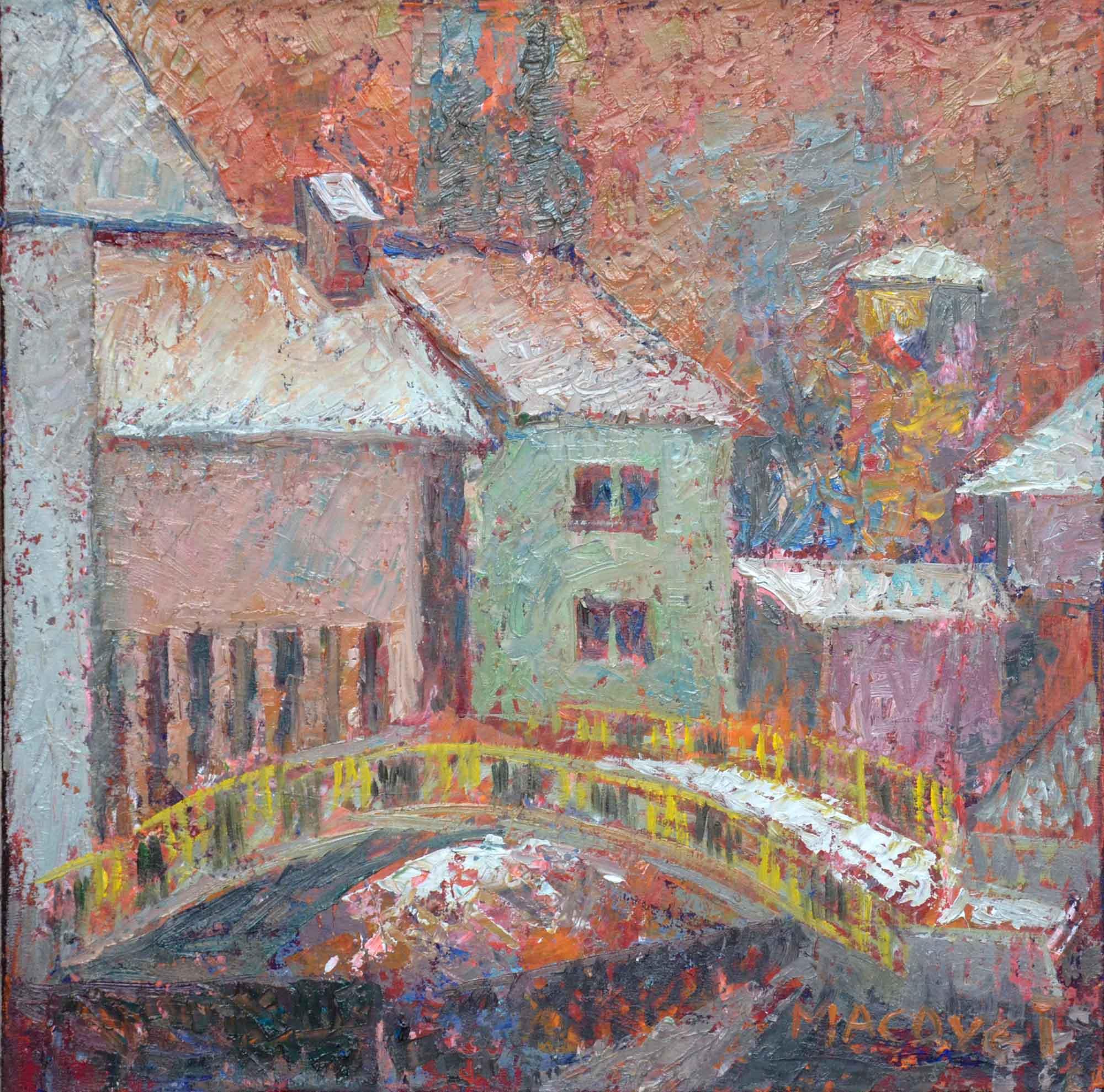 pictor Dumitru Macovei, Podul III