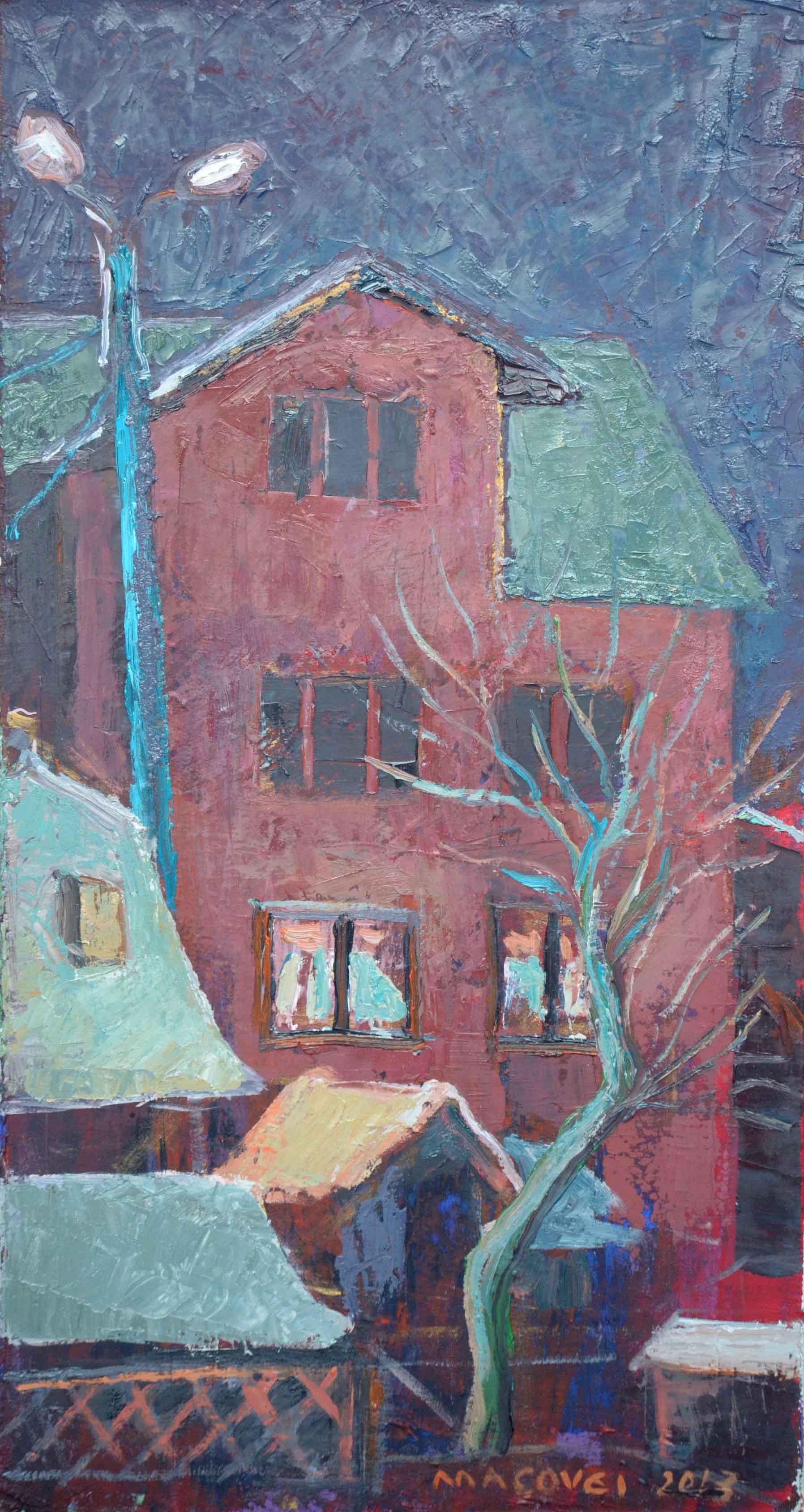 pictor Dumitru Macovei, Casa Noaptea