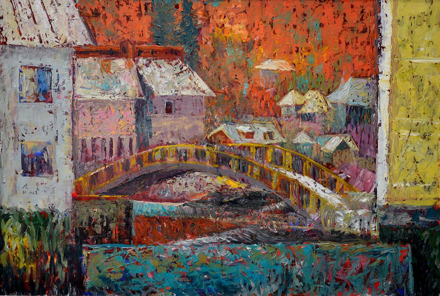 podul dintre case