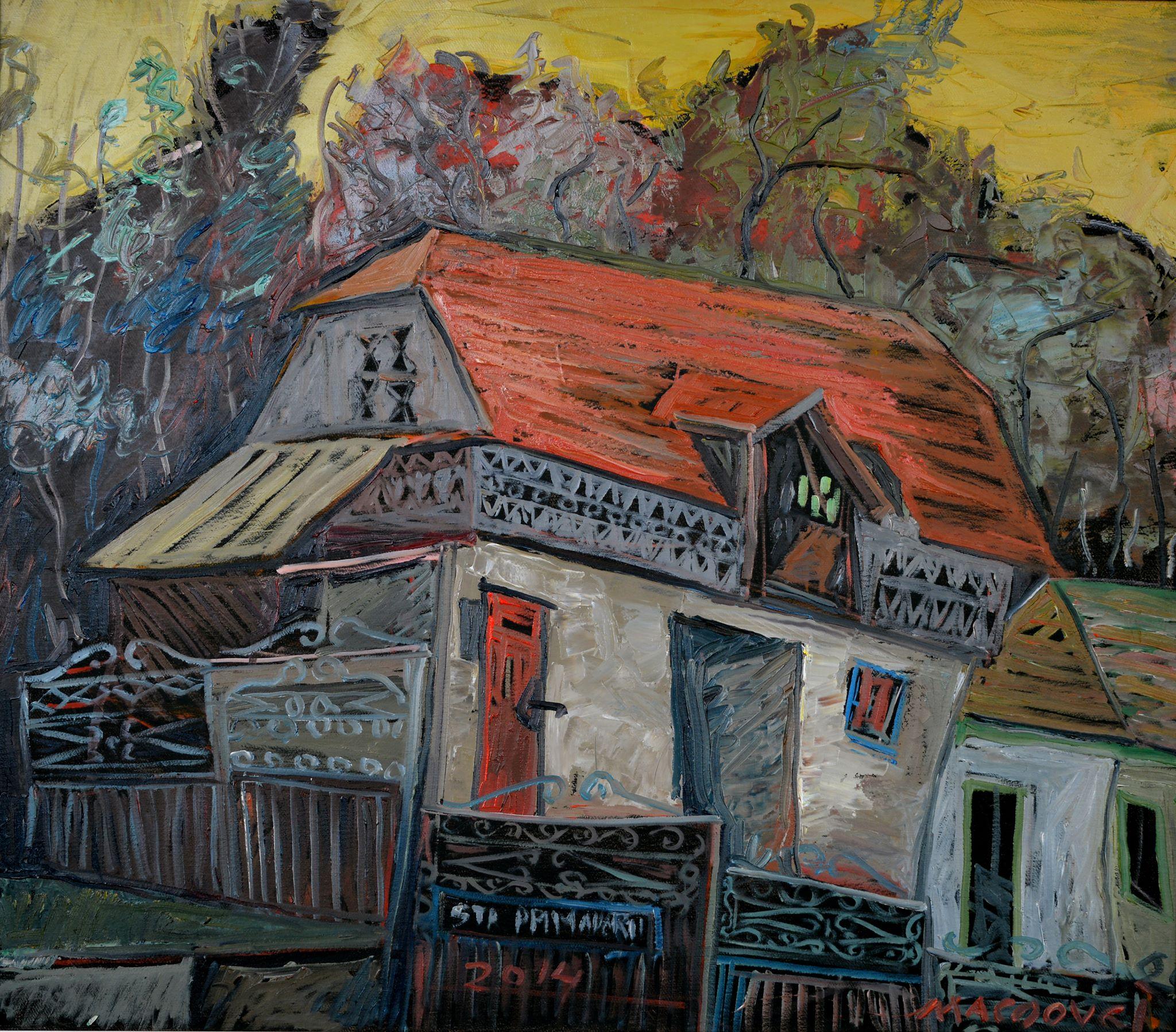 Moinesti I, pictor Dumitru Macovei