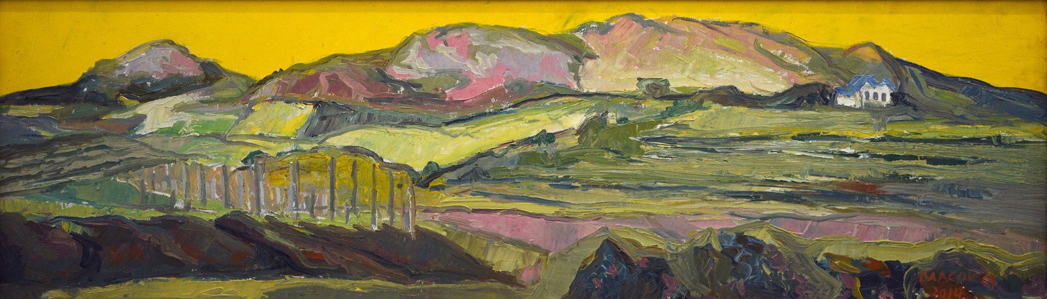 Tohani II, pictor Dumitru Macovei