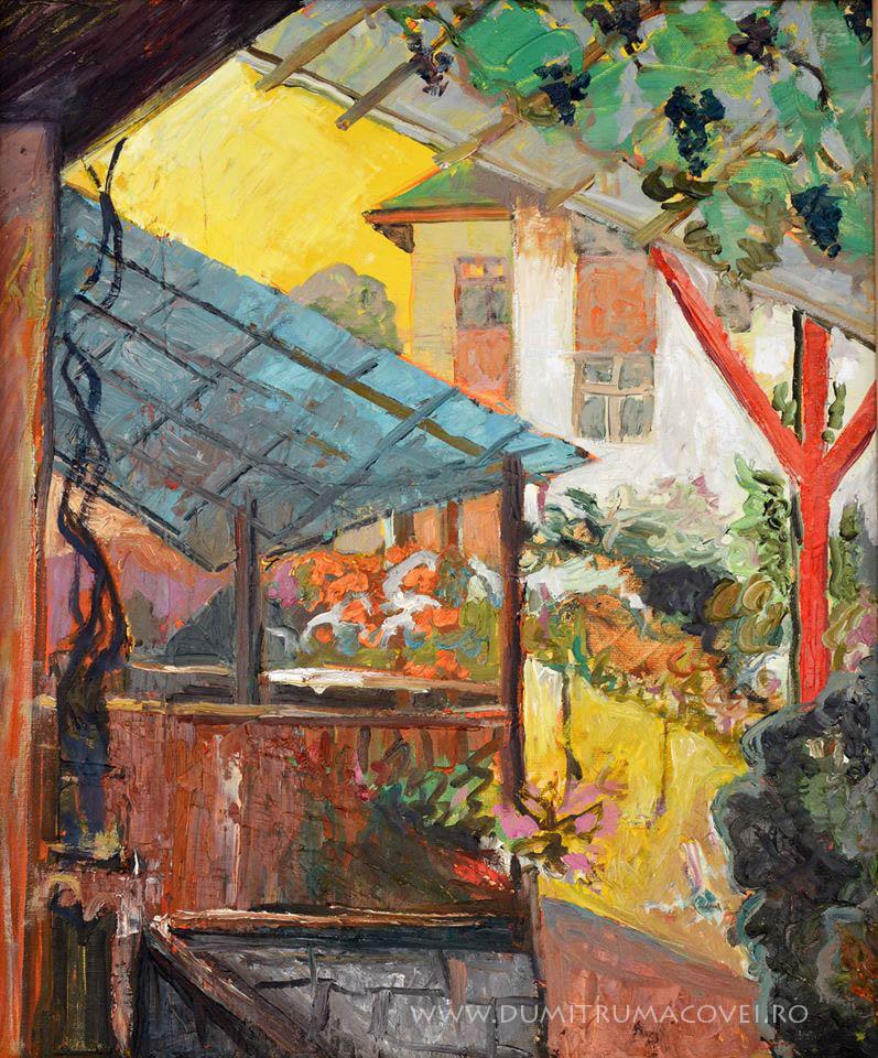 pictor Dumitru Macovei, Cerdac