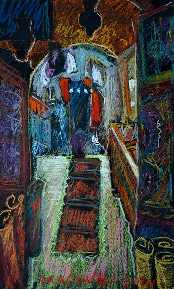 pictor Dumitru Macovei Bazar