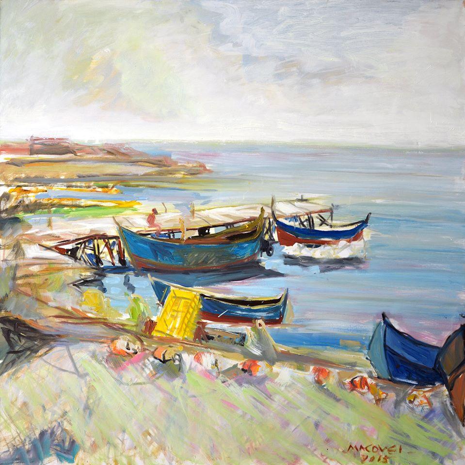 pictor Dumitru Macovei_Plaja II